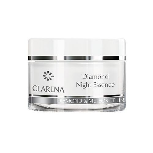 CLARENA Diamond Night Essence Diamentowa esencja na noc 50 ml