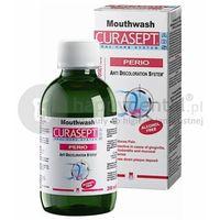 Curasept ads 012 perio 200ml - płyn do płukania jamy ustnej z chlorheksydyną 0.12% i kwasem hialuronowym marki Curaden