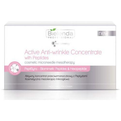 Bielenda Professional MESO MED PROGRAM ACTIVE ANTI-WRINKLE CONCENTRATE WITH PEPTIDES Aktywny koncentrat przeciwzmarszczkowy z peptydami