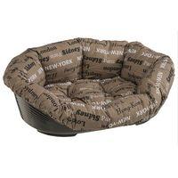 Ferplast sofa 4 legowisko plastikowe z materacykiem 64cm