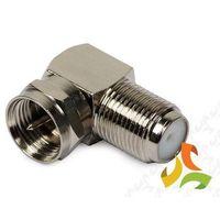 Złączka, przejście kątowe gnia.F - zwykłe-wtyk F DIPOL, E8244/DIP