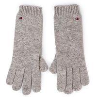 Rękawiczki Damskie TOMMY HILFIGER - Flag Knit Gloves AW0AW07197 0IR