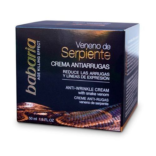 Babaria przeciwzmarszczkowy krem z jadem węża, masło shea, witamina e