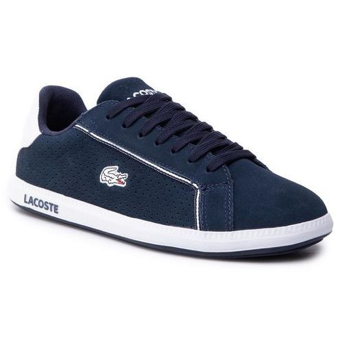 24328ae4 Sneakersy - straightset lace 317 3 caw 7-34caw0060001 wht (Lacoste ...