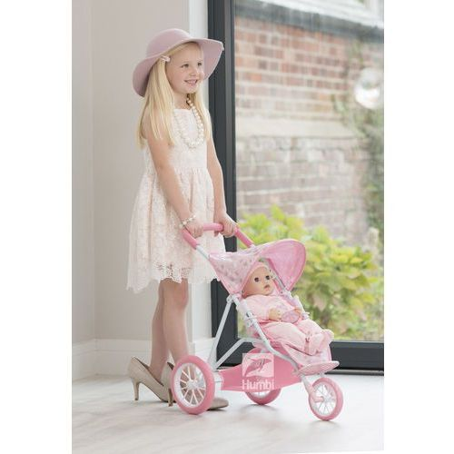 Zapf creation baby annabell wózek spacerówka dla lalki z daszkiem trzykołowa Hti
