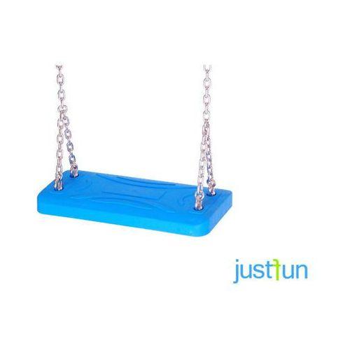 Huśtawka lux + komplet łańcuchów ze stali nierdzewnej 5mm - 1,8m marki Just fun