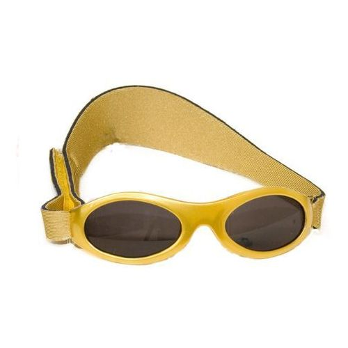 Okulary przeciwsłoneczne dzieci 2-5lat UV400 BANZ - Gold Metallic (9330696008228)