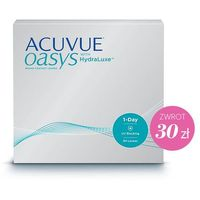 Acuvue 1-day oasys hydraluxe 90 szt. ✸ cashback 30 zł ✸