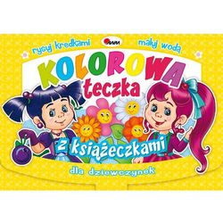 Awm agencja wydawnicza Kolorowa teczka z książeczkami dla dziewczynek