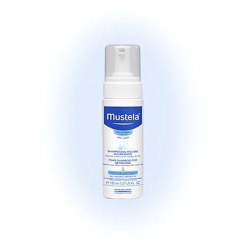 Laboratoires expanscience polska sp. z o.o. Mustela bebe enfant szampon w piance dla niemowląt, 150ml