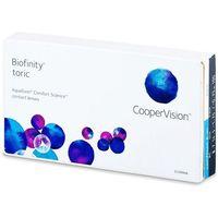 Biofinity toric (6 soczewek) marki Coopervision