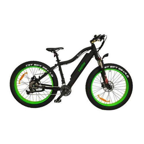 Rower elektryczny raptor zielony marki Skymaster