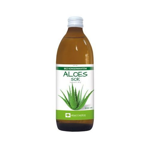 Aloes Sok z aloesu 99,7% - 500 ml