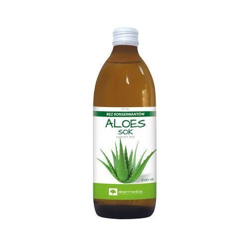 Aloes Sok z aloesu 99,7% - - 500 ml