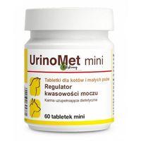 Dolfos urinomet mini dla kotów i małych psów - regulacja kwasowości moczu mini 60 tab. (5902232645781)