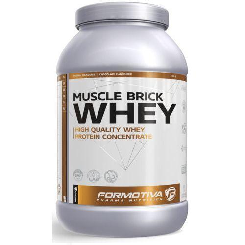 Formotiva - muscle brick whey 1000g truskawka