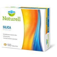 Naturell Silica - piękna skóra, zdrowe włosy, mocne paznokcie - 100 tabl.