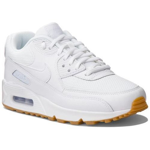 Nike Buty - air max 90 325213 135 white/white/gum light brown