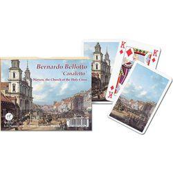 Karty do gry Piatnik 2 talie, Canaletto, Kościół Świętego Krzyża