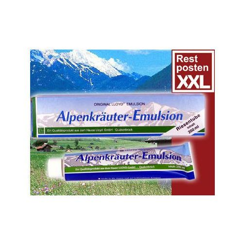 Emulsja ALPENKRÄUTER Emulsion 200ml, NOUVELLE