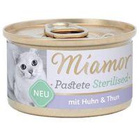 Miamor sterilised kura+tuńczyk pasztet dla kota puszka 85g