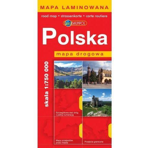 Polska. Mapa drogowa 1:750 000 (2 str.)