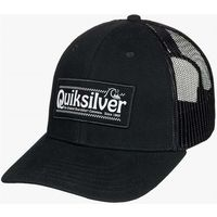 czapka z daszkiem QUIKSILVER - Big Rigger Black (KVJ0)