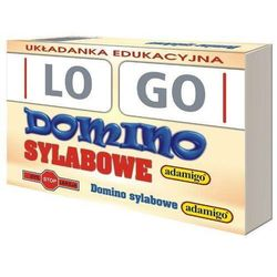Gra domino sylabowe logo marki Adamigo