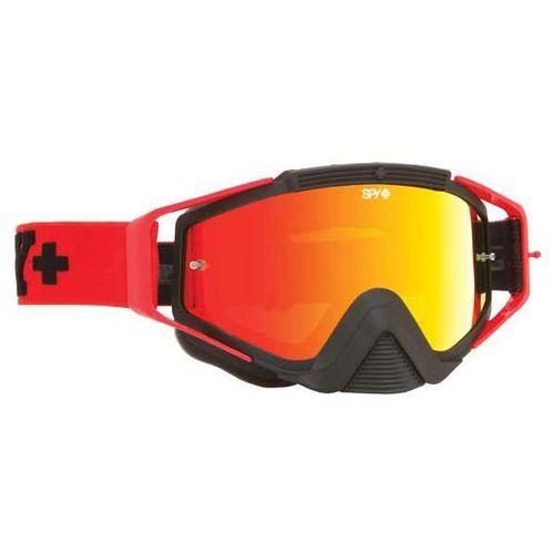 Gogle narciarskie klutch jersey red - smoke w/ red spectra (+clear anti fog w/ posts) Spy