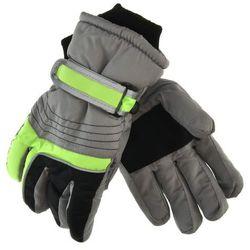 Rękawiczki narciarskie dla dzieci Scorpio - Zielony ||Szary, kolor zielony