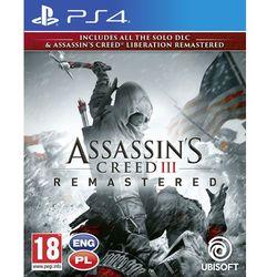 Assassin's Creed III Remastered Gra playstation 4 UBISOFT