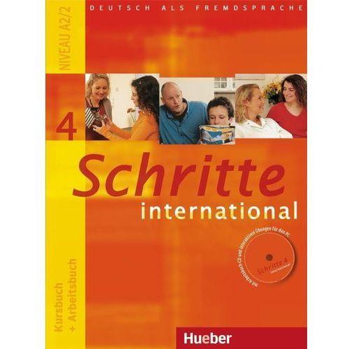 Schritte international 4. Kursburch + Arbeitsbuch. (Podręcznik + Ćwiczenia) + CD. Edycja niemiecka, oprawa miękka