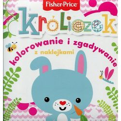 Olesiejuk Fisher price kolorowanka podłogowa króliczek