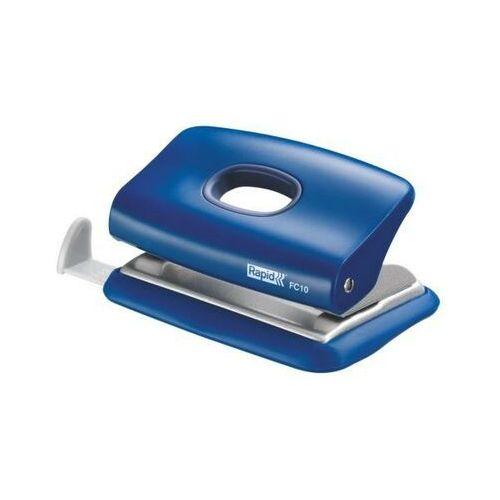 Dziurkacz mini fc10 - niebieski marki Rapid