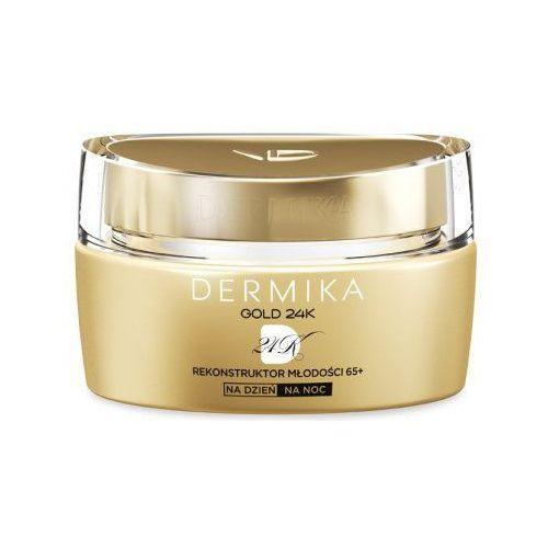 Dermika gold 24k total benefit 65+ (w) krem do twarzy na dzień/noc 50ml