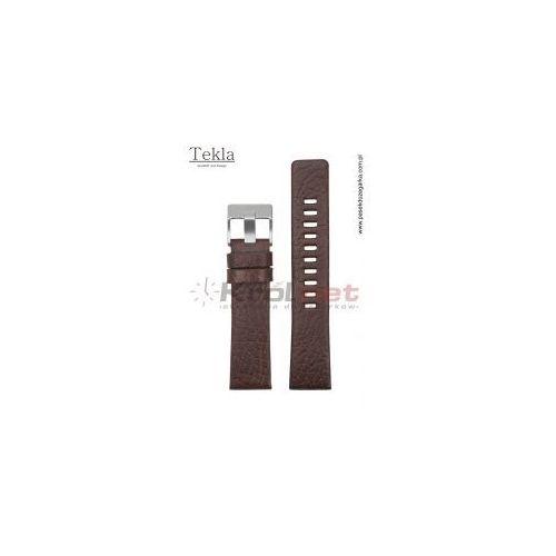 Tekla Pasek tk124br/22 - brązowy, diesel, fossil, ck