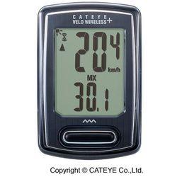 Cateye Licznik rowerowy velo wireless+ cc-vt235w - biały