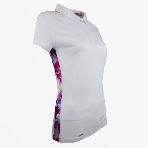 Koszulka damska polo High Cut Navy (biała) S