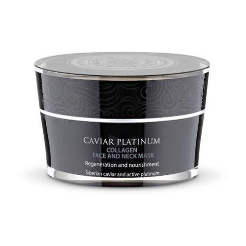 Siberica Professional Caviar Platinum Collagen Face And Neck Mask, 50 ml. Kolagenowa maseczka do twarzy i szyi - Siberica Professional