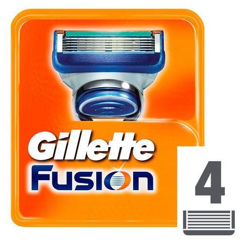 GILLETTE 4szt Fusion Manual Wkłady do maszynki do golenia, 43142 - Bombowa przecena