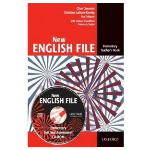 New English File Elementary Teachers Book Pack (CD-ROM), oprawa miękka