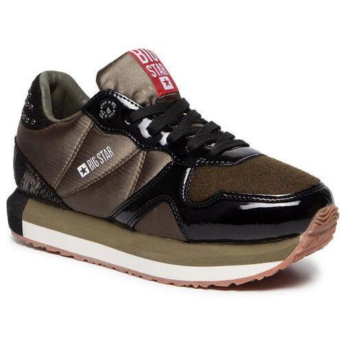 Sneakersy - ee274722 khaki, Big star