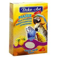 DAKO-ART Piasek cytrynowy dla ptaków 1,5kg