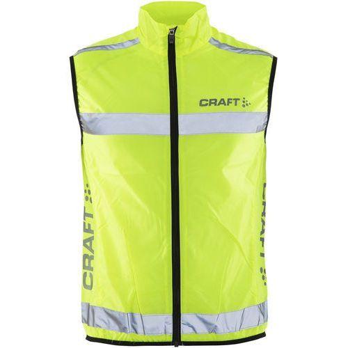 Craft Visibility Kamizelka do biegania żółty S 2019 Kamizelki do biegania (7318571037442)
