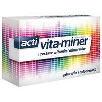 Drażetki Acti Vita-miner x 30 tabletek