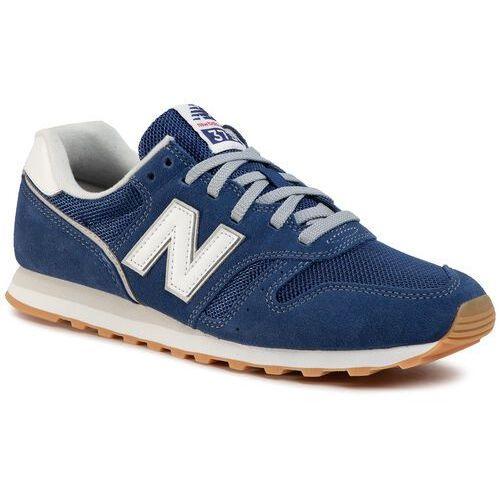 New balance Sneakersy - ml373df2 niebieski