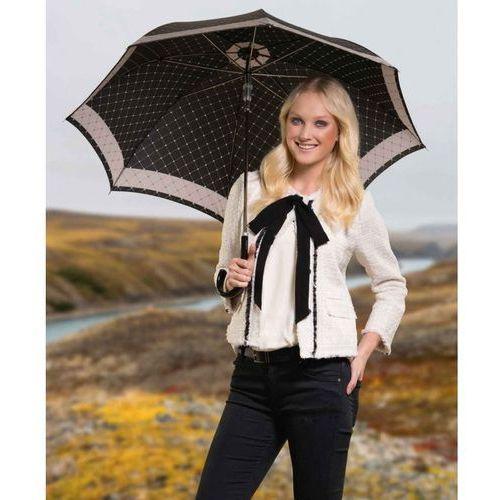 Doppler parasol damski, long carbonsteel ac rete czarny 714765re03, długi