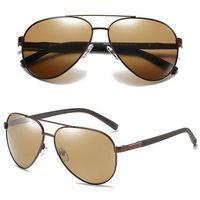 Okulary przeciwsłoneczne polaryzacyjne męskie