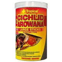 Tropical cichlid & arowana large sticks - pokarm dla pielęgnic i arowan 250ml/75g (5900469635346)