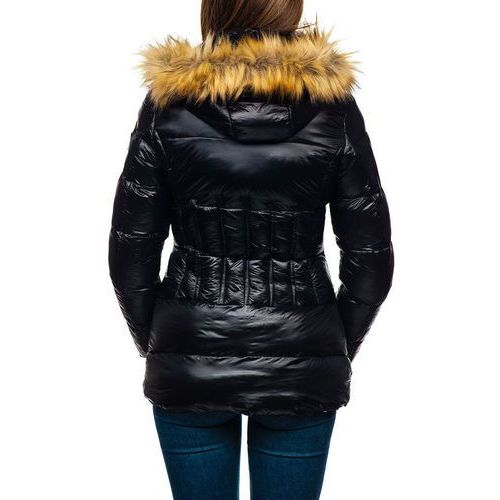 Kurtka zimowa damska czarna denley 18119, Miss fofo